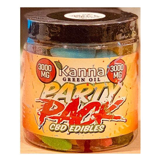 Kanna CBD Edibles Party Pack 3000 mg